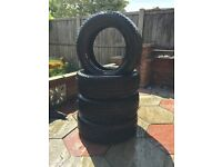 """4 16"""" tyres very good condition"""