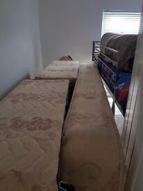 Double divan bed. Great mattress. No stains and very clean. Buyer need to collect.