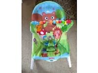 NUBY baby/toddler bouncer/seat