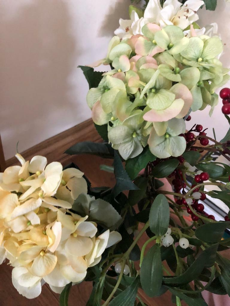 Artificial Flowers From John Lewis And Vase In Aberdeen Gumtree