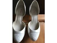 Rainbow Club, size 5 'Aspen' ivory wedding shoes