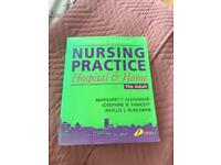 Nursing practice hospital and home adult book