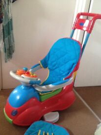 Ride on spaceship from motherCare