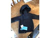 Mountain Warehouse Coat/Jacket with hood Age 2/3 BNWT Black