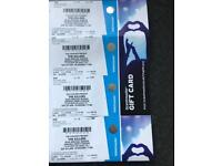 Killers concert seated tickets x2 swansea liberty stadium