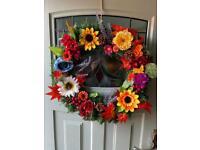Autumn Christmas wreaths 50cm