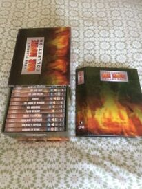 Set of DeAgostini Classic War Movies on DVDs