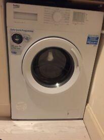 Beko Washing Machine 1 month only - Hardly used