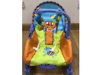 Infant to toddler baby rocker cum chair