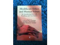 Healthcare Ethics and Human Values
