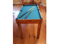 Multi Games Table (seven games)