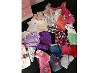 Bright bundle of baby clothes 12-18months