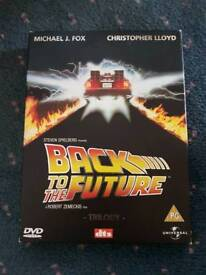 Back to the future dvd boxed set