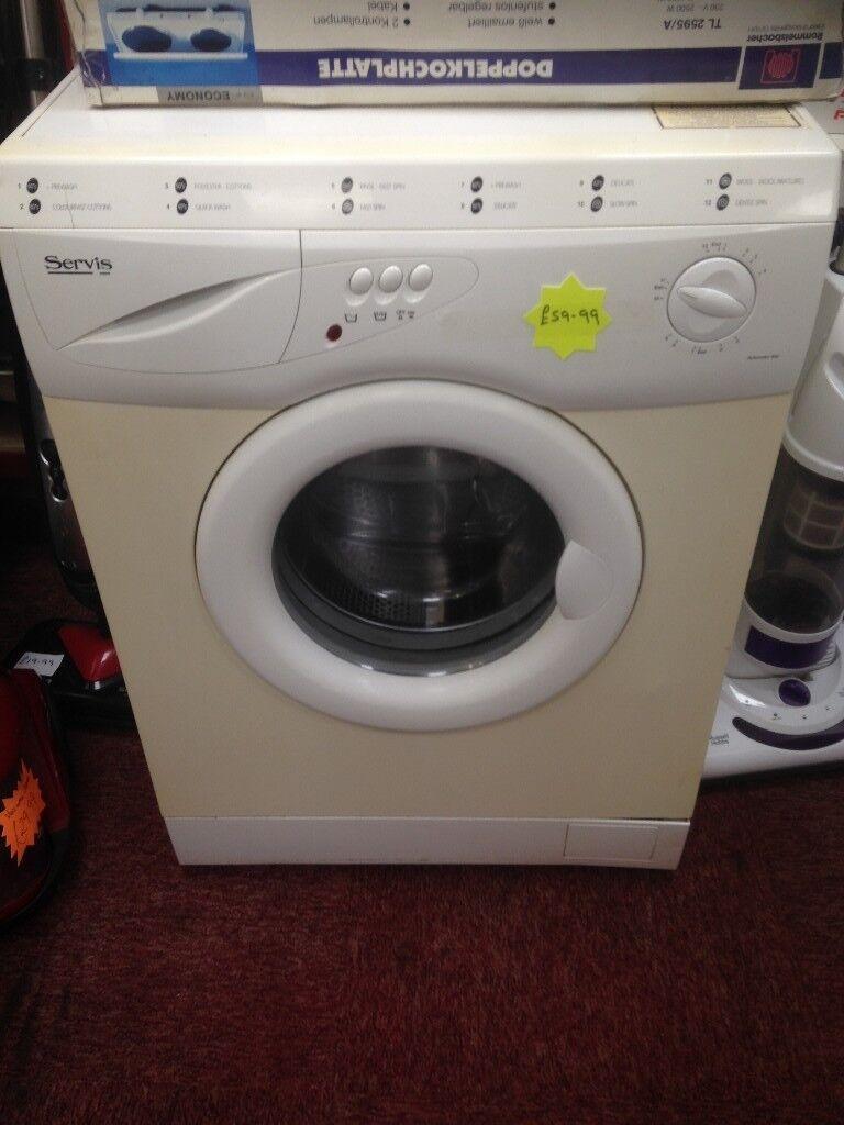 Service washing machine