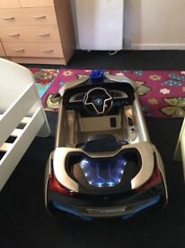 Electric kid car with remote control