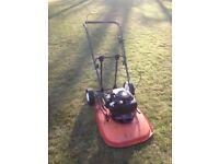 flymo lawn mower XL500 with honda engine.