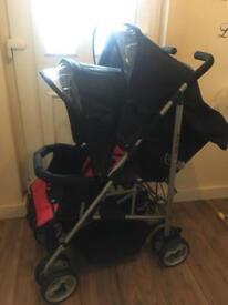 Kids kargo double pushchair
