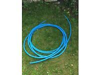Blue Plastic Pipe/Hose