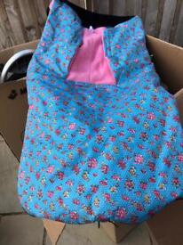 Baby pray sleeping cover bag