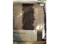 BRAND NEW M&S eyelet lined curtains