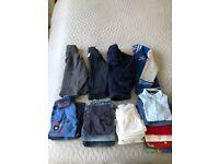 Bundles of boys clothes from£4-£12(0-6m,18-24m,2-3y,4-5y,7-9y)
