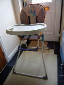 High chair, very good condition