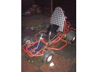 125cc shifter kart swap or sale like new rapid
