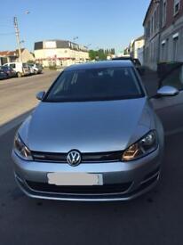 LHD VW Golf mk7 2014