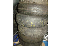 "CLASSIC MINI 145 70 X 12 TYRES VARIOUS MAKES ALSO SUIT TRAILER WITH 12"" WHEELS"