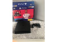 PlayStation 4 with FIFA 20