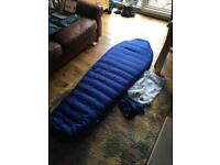 Alpkit Pipedream 600 down sleeping bag (as new)