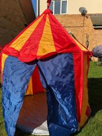 Kids Ikea fold up tent