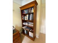 Bookcase - classic piece of furniture in Yew