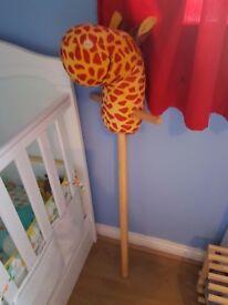 Giraffe hobby horse