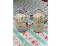 TOMY Walkabout recharge baby monitor