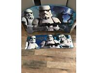 Brand new in box toddler Star Wars bed frame