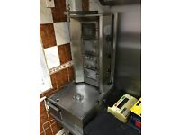 Takeaway cafe restaurant Donner machine Gas cooker Pizza oven Fryer, Grill and big dough machine