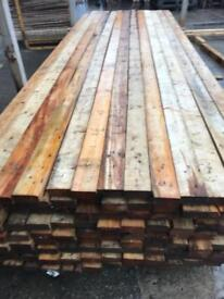 Reclaimed timber, wooden planks, 12ft long, timber