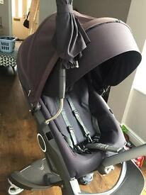 Stokke Explory with carry coat