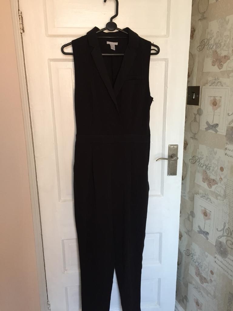 311284ce48fa Black jumpsuit size 8-10
