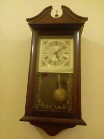 Traditional Style Chime Wall Clock