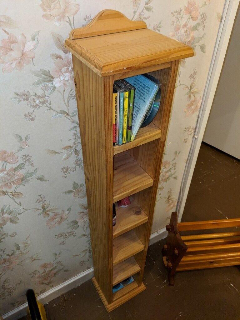 Solid Wooden Cd Holder Or Storage Shelf In Lewisham London Gumtree