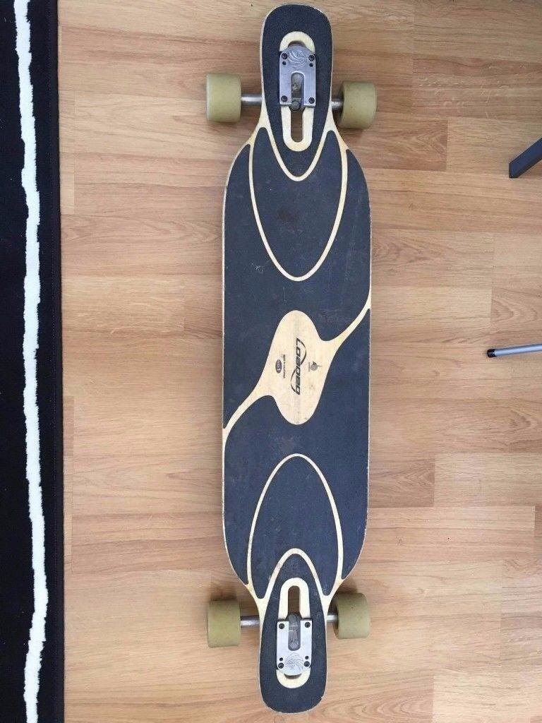 Longboard Loaded Dervish Sama flex 1 Paris trucks, Hawgs Zombie skateboard  | in Richmond, London | Gumtree