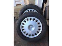 Jaguar Snow tyres and wheels