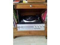 Hacker centurion record player with speakers