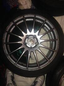 Alloys AUDI VW GTI R32 German 18""