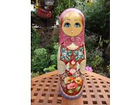 Classically Styled Russian Doll Wine/Spirit Bottle cover.