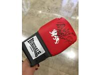 Frank Bruno Signed Boxing glove inc Photo Proof