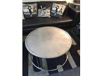 New aviator clock face coffee table normally £230 today's special £125