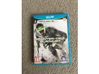 Splinter Cell Nintendo Wii u